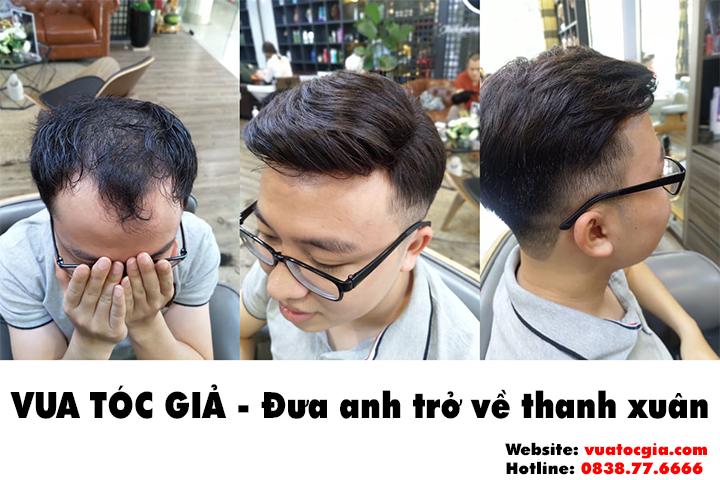 Mua tóc giả ở đâu chất lượng tốt nhất hiện nay? Tóc giả bằng tóc thật
