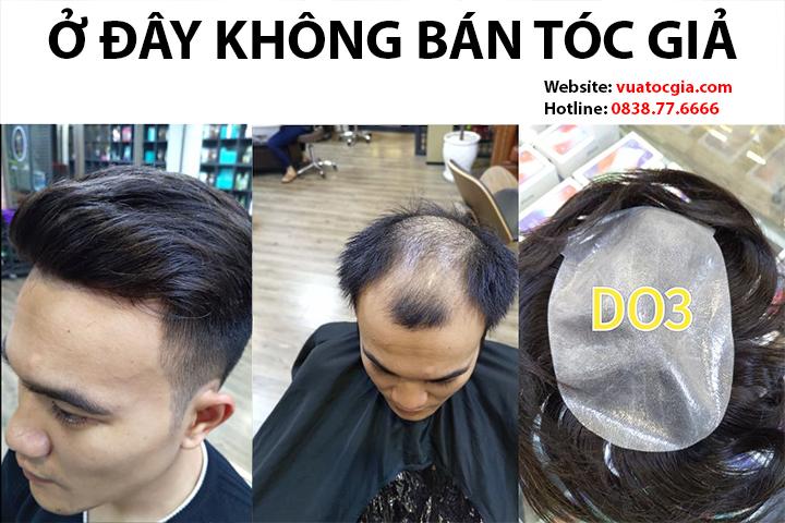 Địa chỉ mua tóc giả nam Hà Nội nào uy tín, chất lượng tốt nhất?