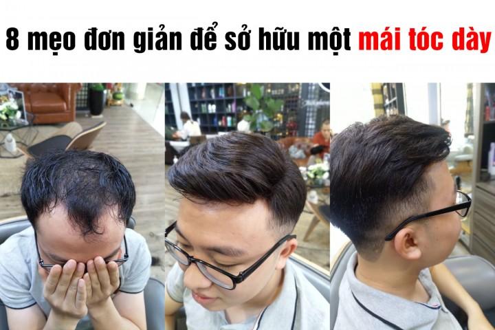 Cách mọc tóc nhanh cho nam:  8 Mẹo đơn giản để sở hữu một mái tóc dày