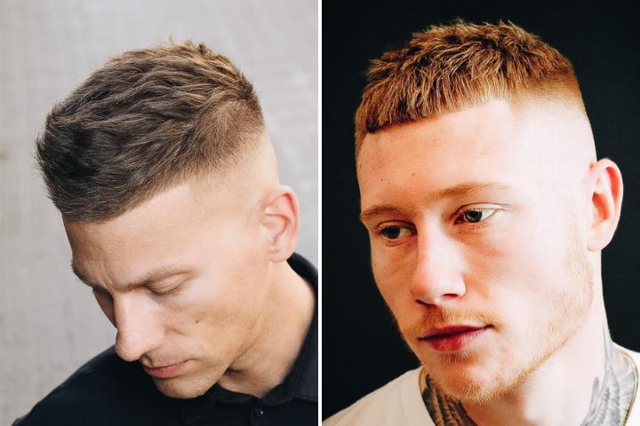 Xu hướng tóc nam 2021 cho quý ngài trán cao, tóc bò liếm