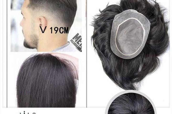 Những điều cần lưu ý khi lựa chọn kiểu tóc giả của nam