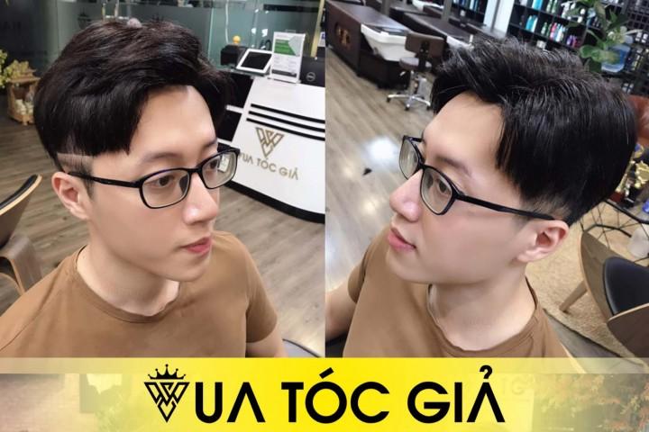 16+ Kiểu Tóc Giả Nam 2 Mái Siêu Da Đầu Che Mọi Khuyết Điểm Hói Đầu, Rụng Tóc của bạn