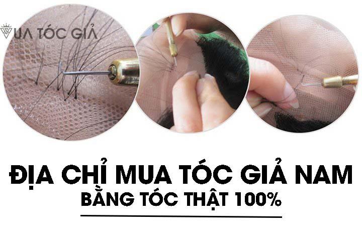Thương hiệu tóc giả nam nào uy tín nhất tại TP Hồ Chí Minh?