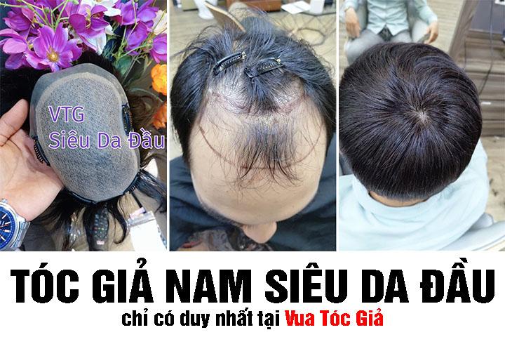 4 Kiểu tóc giả nam nguyên đầu đẹp nhất 2020 - Khiến chị em phát mê