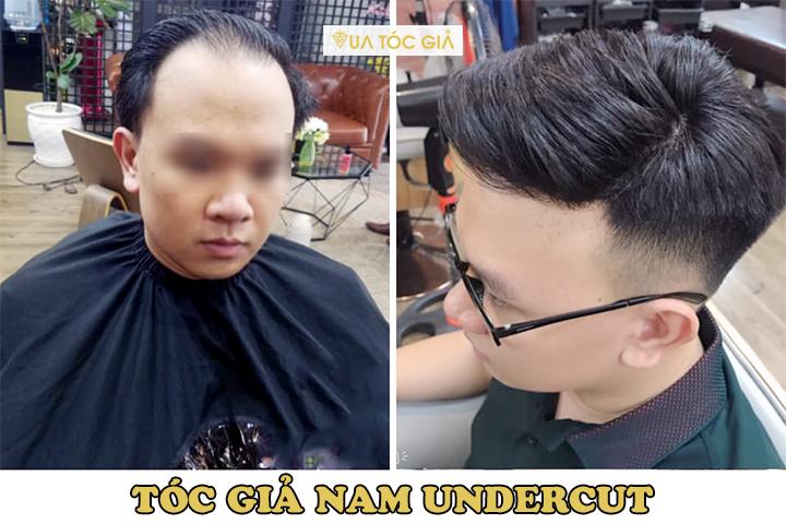 Mua tóc giả làm bằng tóc thật ở đâu? Tóc giả nam cao cấp Hà Nội